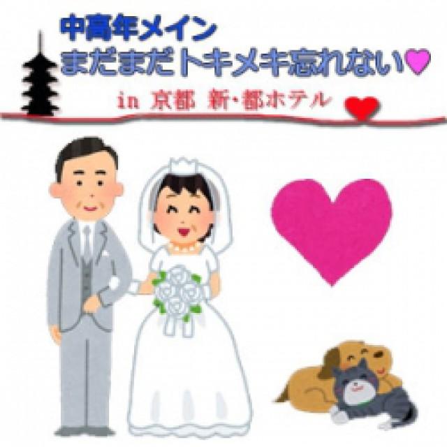大阪の婚活・お見合いパーティーは | 「まだまだトキメキ忘れない☆中高年メイン婚活パーティー」in新・都ホテル