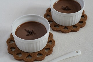 チョコレートプリン ジンジャー風味