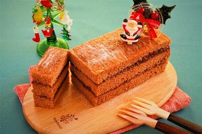クリスマス チョコケーキ