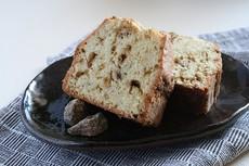 黒糖つぶつぶ入りパウンドケーキ