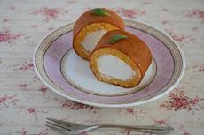 ミニロールケーキ 〜ミントを添えて〜