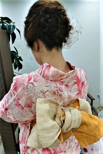 浴衣祭り ローシニヨンでゆったり
