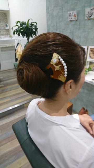 結婚式参列 ヘアセット/ヘアアレンジ 和装色留袖用ヘア