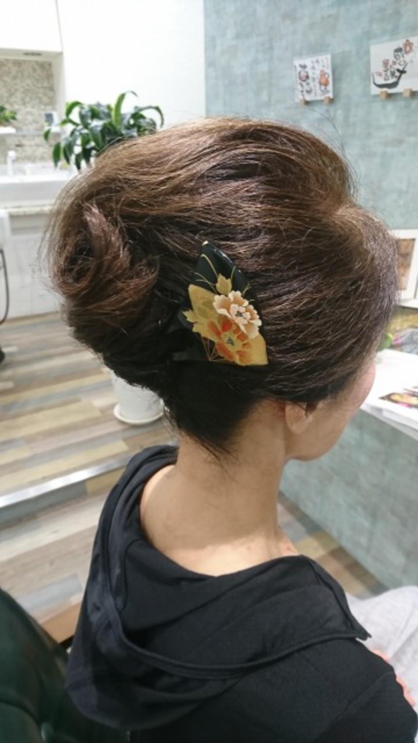 結婚式参列 ヘアセット/ヘアアレンジ 留袖用ヘア